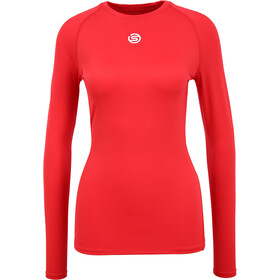 Skins Series-1 LS Top Women, red